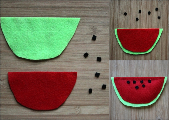 How to Make Food Felts