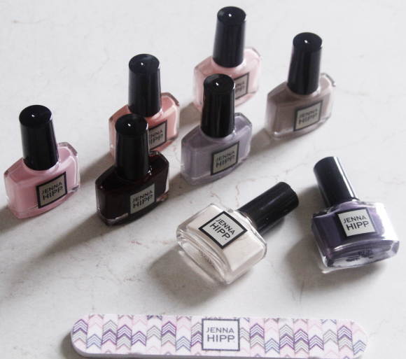 Jenna Hipp Green Nail Polish Collection