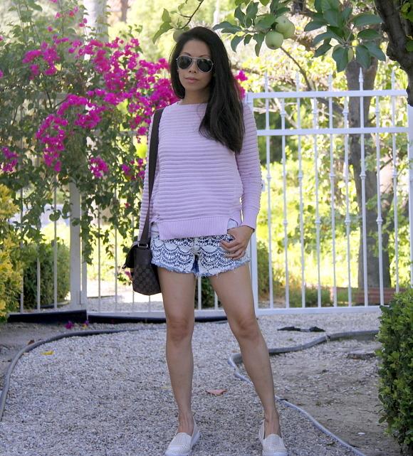 Pink and Shorts