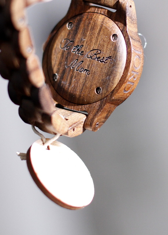 personalized engraved watch