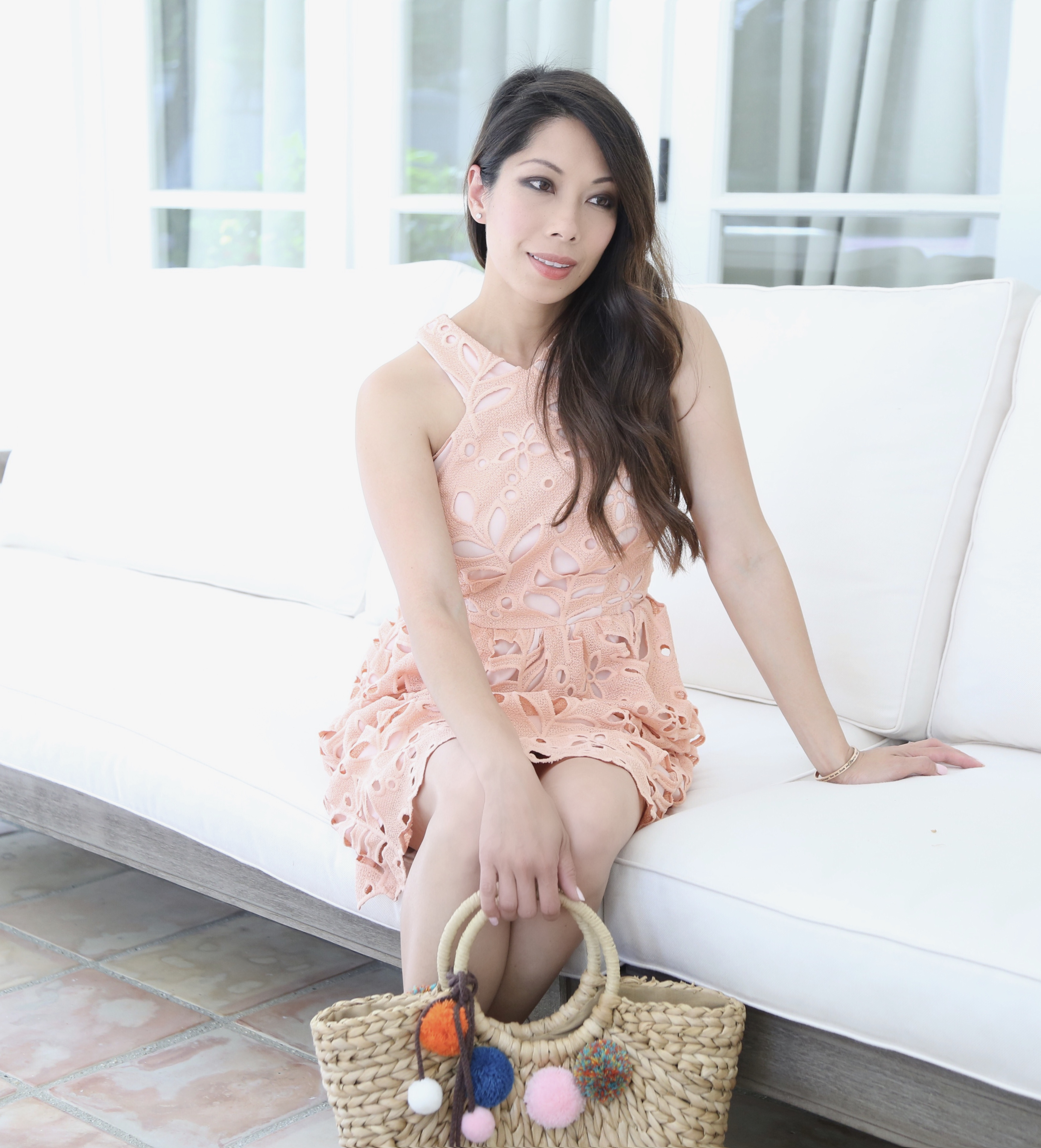How to wear Peach for Spring
